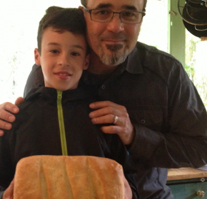 A Dad, a Boy and their Bread