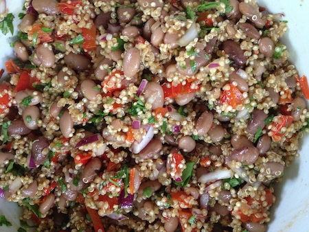Spicy Pinto Quinoa Salad
