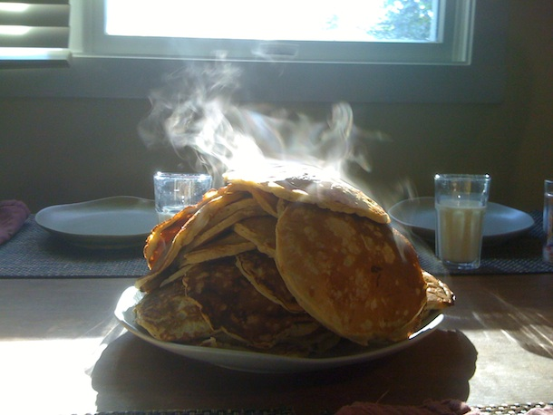 A pancake morning