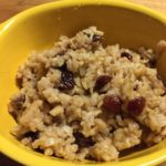Coconut Rice Pilaf with Cranberries