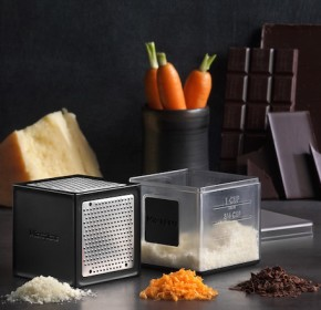 Microplane Cube Grater: Cheese, Chocolate, Carrots and more