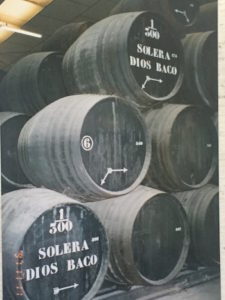 An example of the solera process